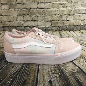VANS Women's Size 10 Pastel Suede Canvas Shoes